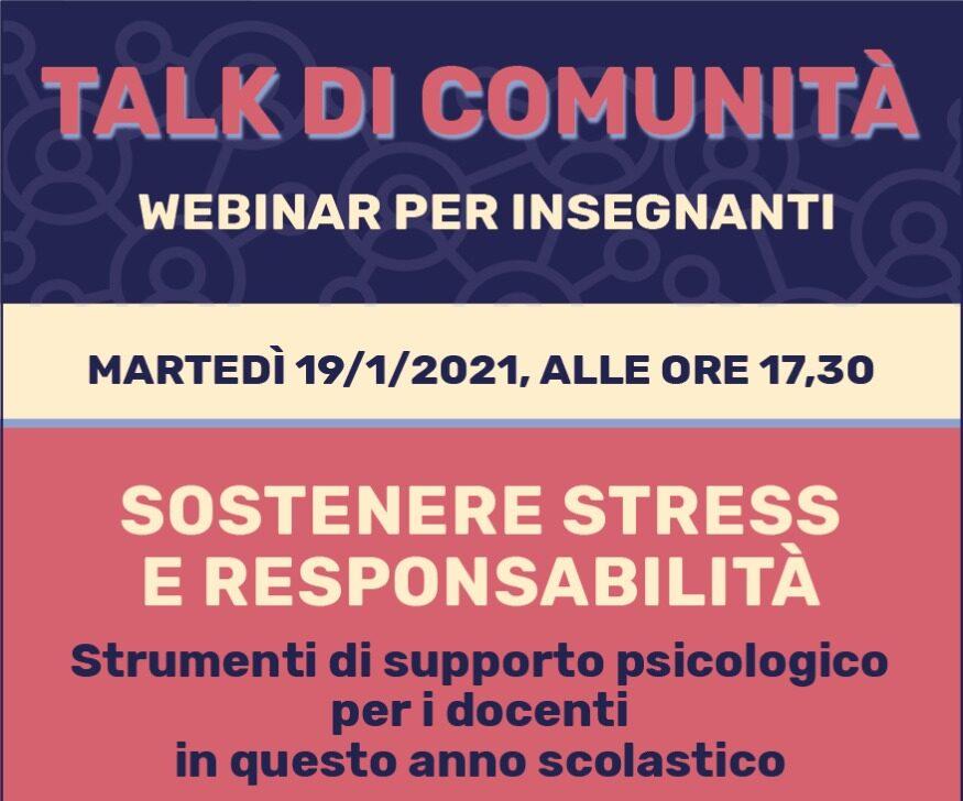 Talk di Comunità_gen21