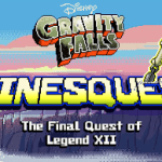 GAMES Review – Gravity Falls: Pinesquest