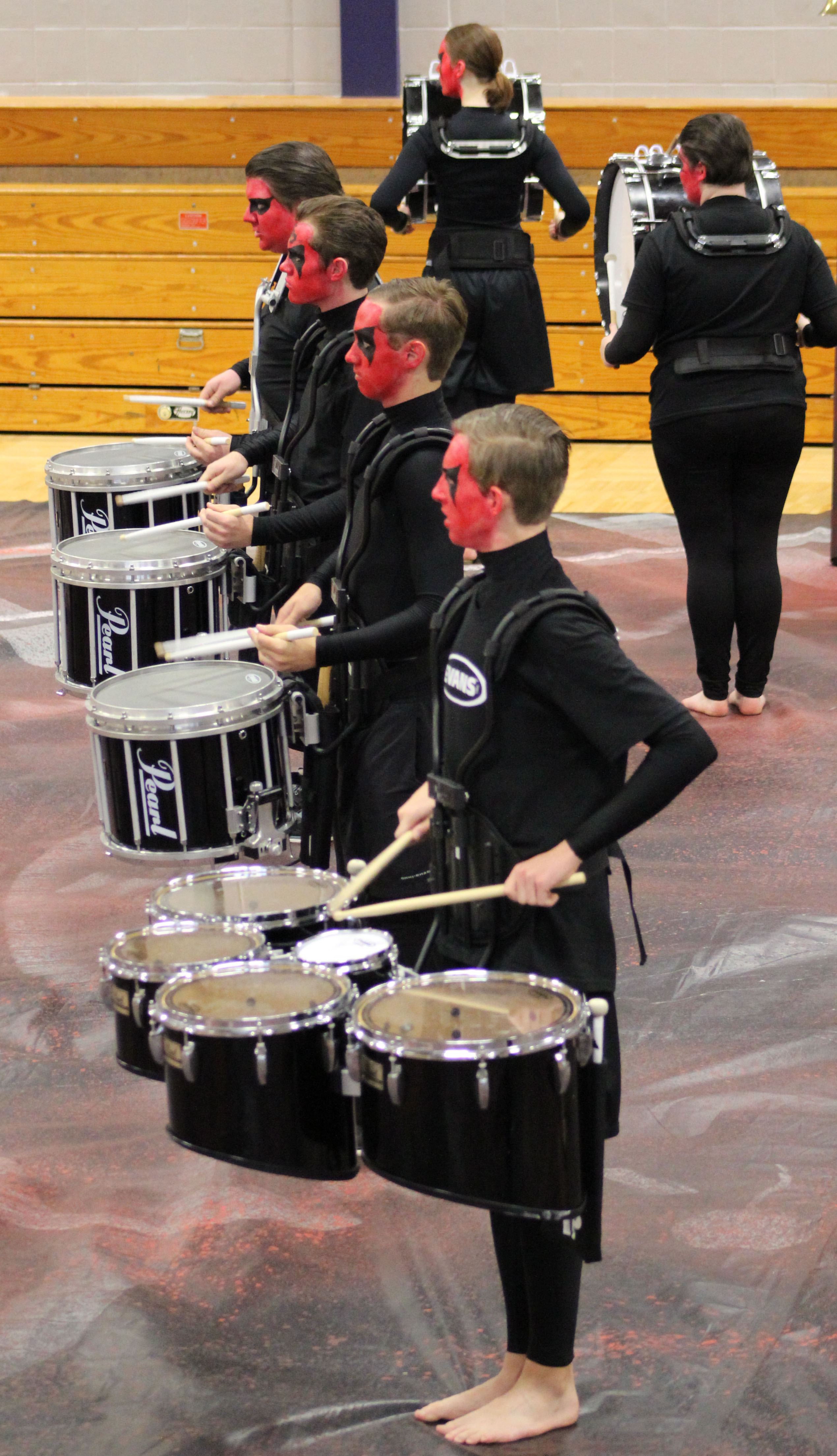Indoor Drumline 2014