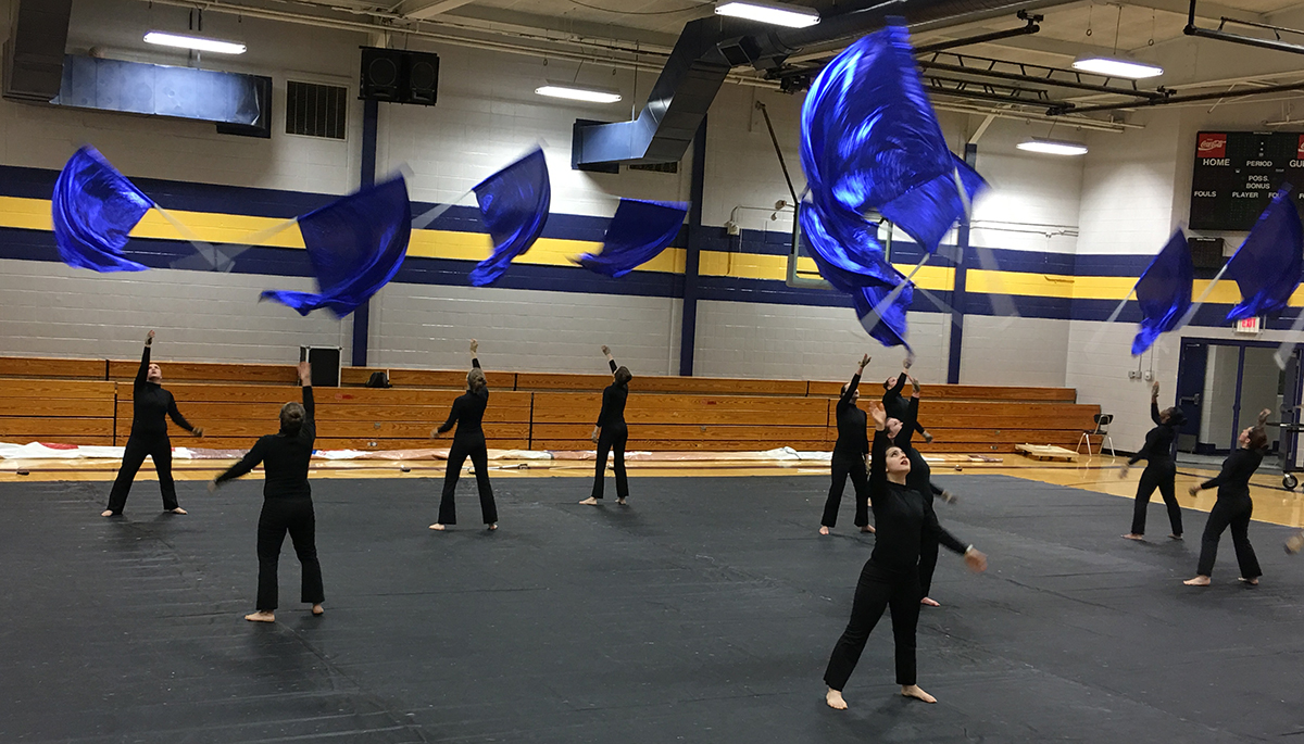 Buckhorn Winter Guard