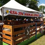 Ken Jen petting zoo at Canada Day