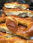 Soft pretzels at Carversville Grocery Store