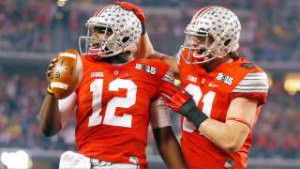 Ohio State rolls over Rutgers smooth first start for J.T. Barrett