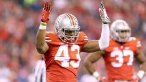 Ohio State LB gets tough love on Twitter from his mom