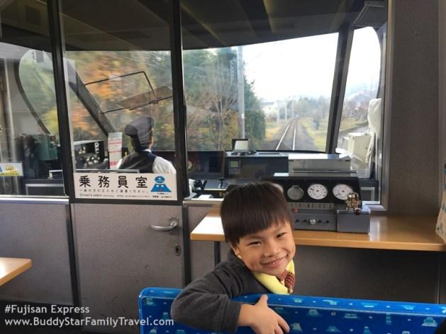 รถไฟลายฟูจิ, fujisan express, รถไฟภูเขาฟูจิ,พาลูกเที่ยวฟูจิ,พาลูกเที่ยวญีปุ่น