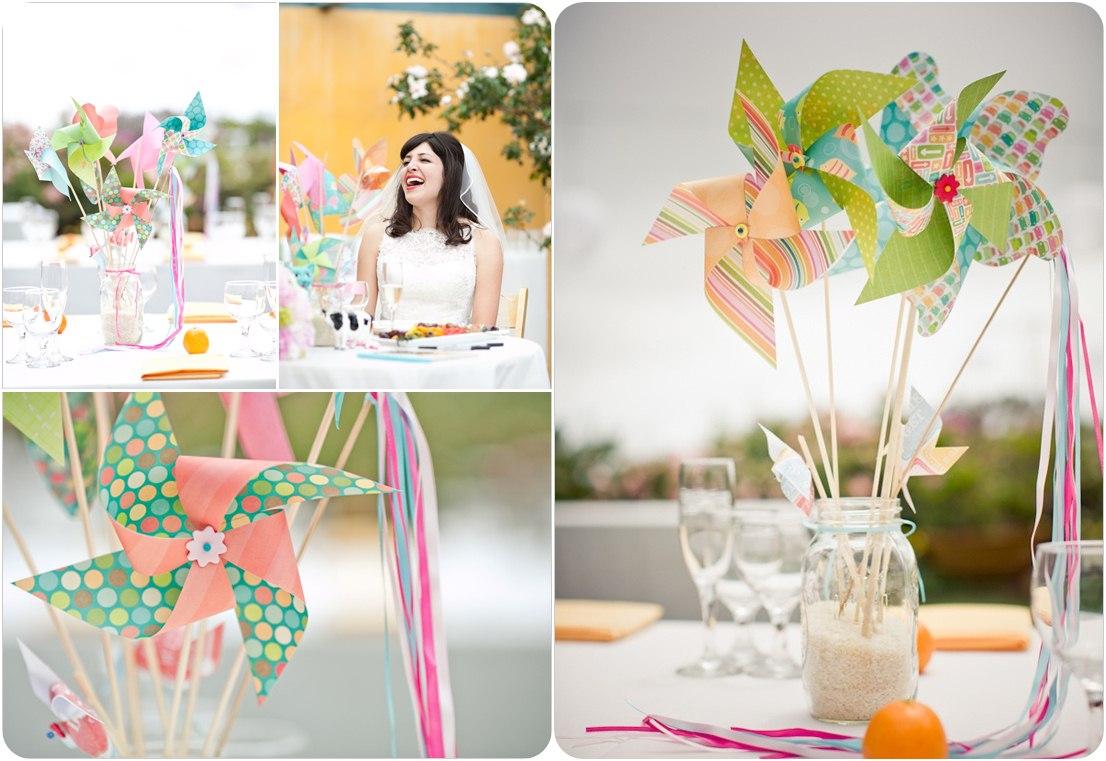 cheap wedding centerpieces wedding centerpieces ideas pinwheels centerpiece ideas
