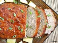 Thai Turkey Meatloaf