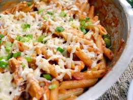 chicken enchilada pasta