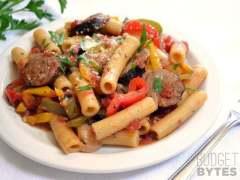 Sausage & Pepper Pasta
