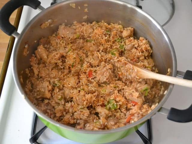 Rice and Tomato Paste