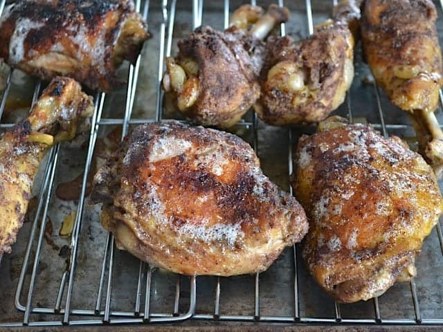 Broiled 5 Spice Chicken