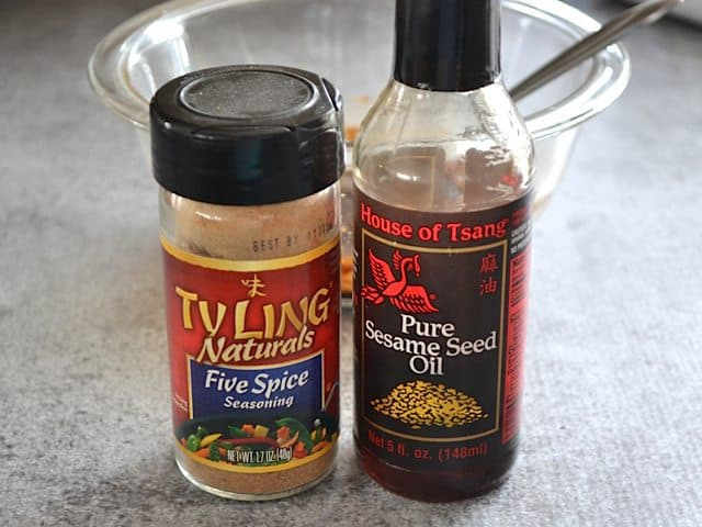 Five Spice and Sesame Oil
