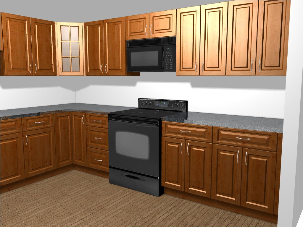budgetkitchenandbath budget kitchen remodel Design Rendering Finished Kitchen