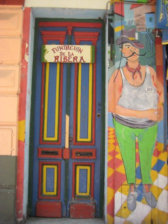 Decorated Doorway, la Boca