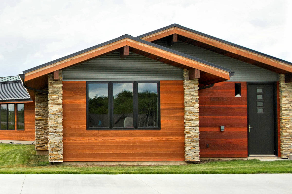 Pristine Groove Siding Dimensions S Tongue Groove Siding Siding Patterns Groove Siding Panels Tongue Tongue Groove Flush Joint Redwood Siding Sap B Near Clear Factorystained Twp Redwood Tongue houzz-02 Tongue And Groove Siding