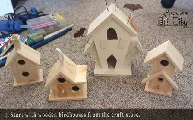 Step 1. DIY Halloween Haunted Houses!