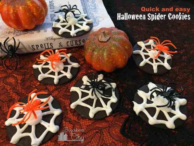Halloween Spider Cookies!