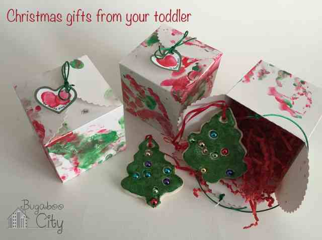 Toddler Made Holiday Gift