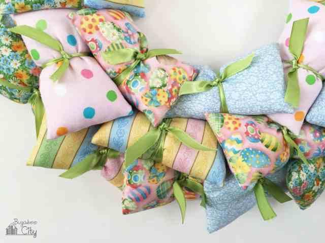 Easter Pillow Wreath