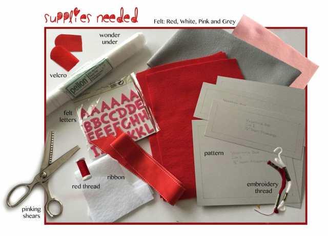 Valentine's Day MailboxSuppliesNeeded