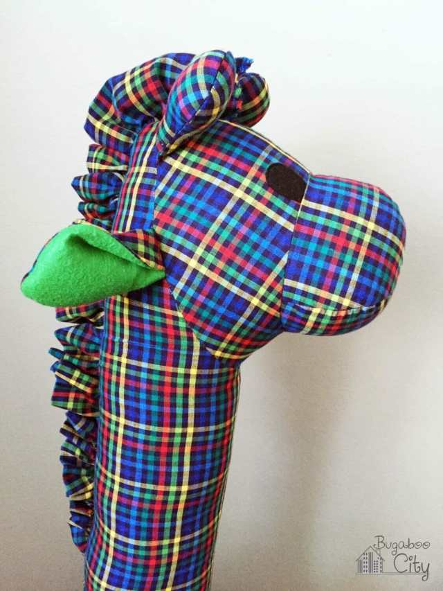 The Giant Plaid Giraffe