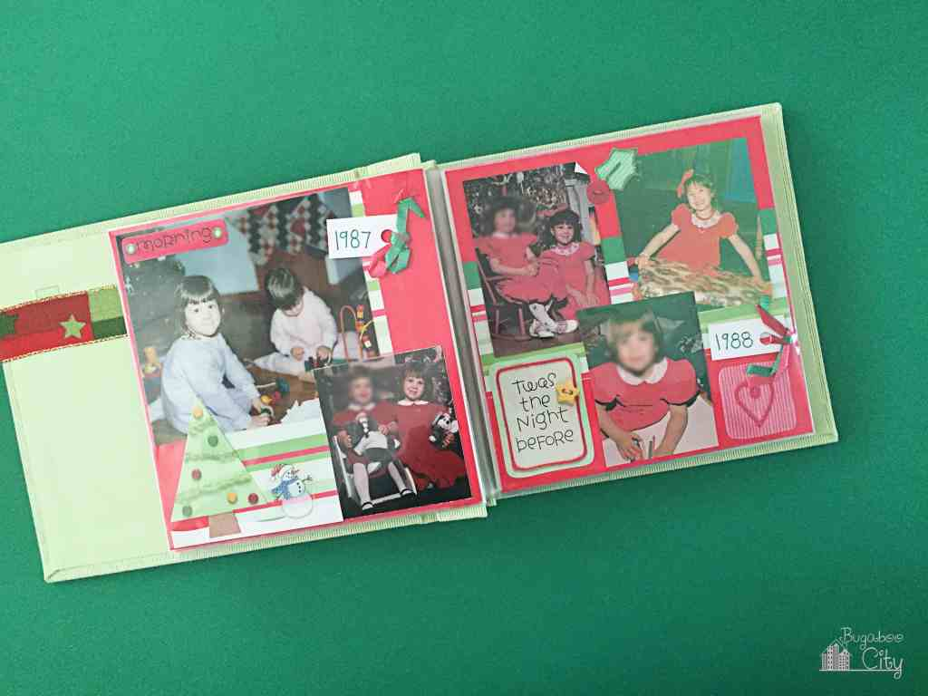 Christmas Family Scrapbook 5