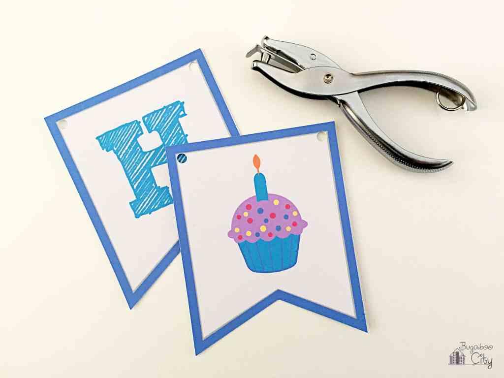 Printable Birthday Ribbon ~ Happy birthday banner bugaboocity