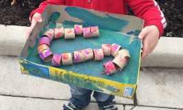 Snake Kid's Craft