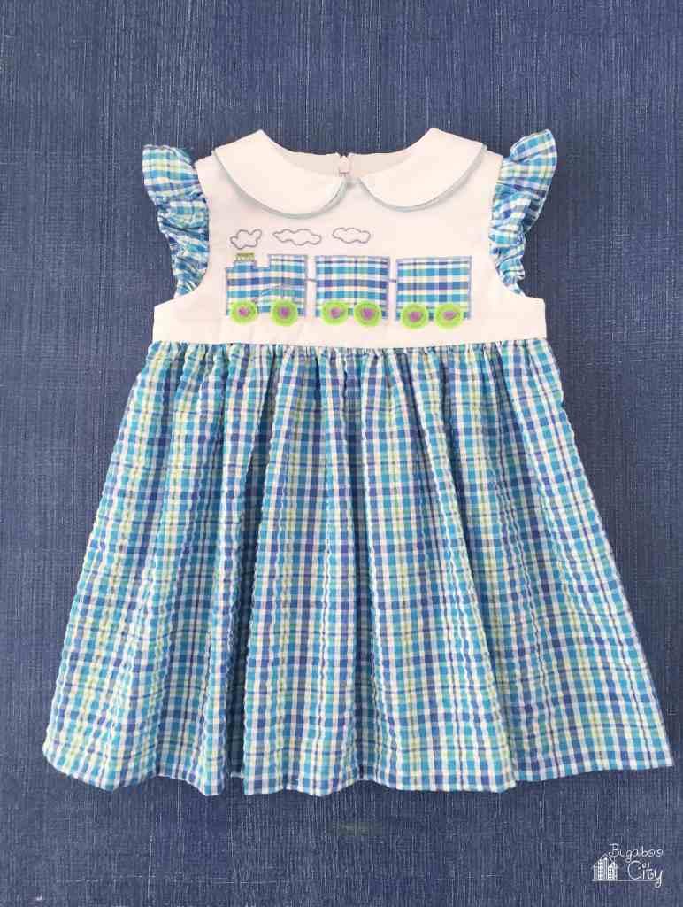 Train Baby Dress
