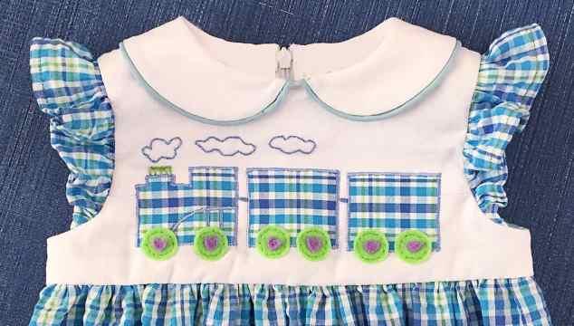 Choo Choo Train Dress