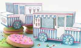 Ice Cream Truck Treat Box