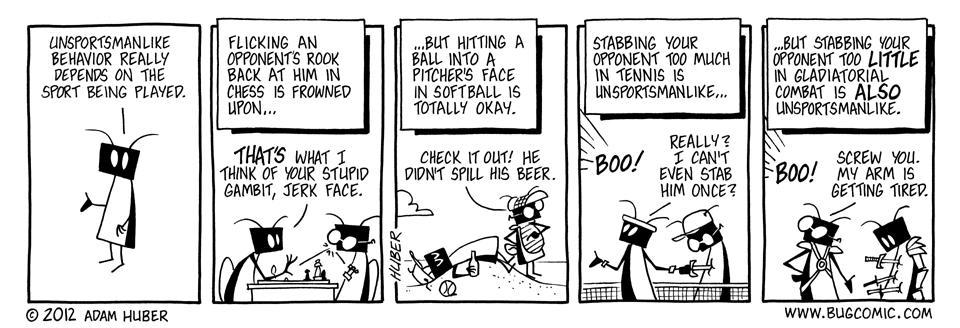 Sportsmanship – Sudden Death
