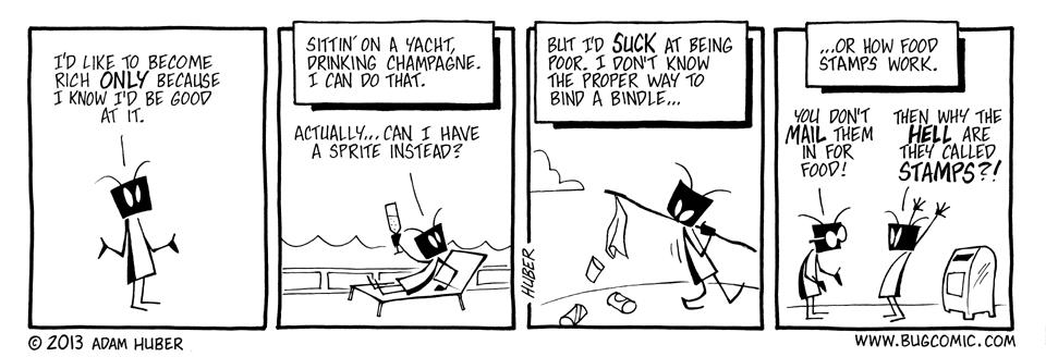 Rich Bug, Poor Bug