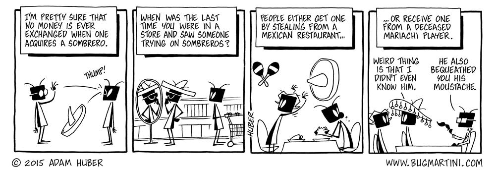 No Dinero for Sombreros