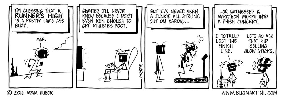 Living High On the Jog