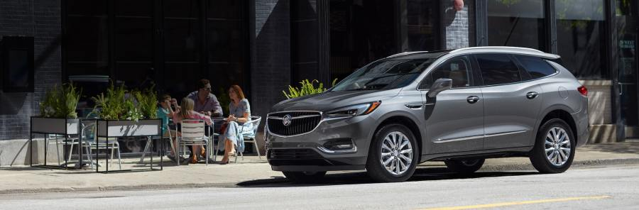 Buick Luxury Cars  Crossovers  SUVs   Sedans   Buick Masthead image of the 2018 Buick Enclave mid size luxury SUV