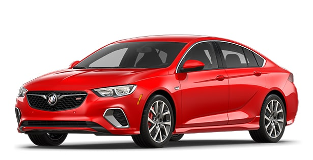 Buick Luxury Cars  Crossovers  SUVs   Sedans   Buick Jellybean image showing the 2018 Buick Regal GS luxury sedan in sport red