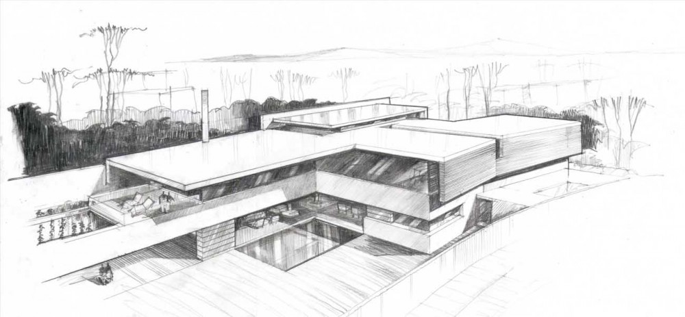 Architecture House Sketch sketch design – building guide – house design and building tips