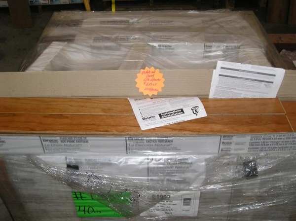 Bruce engineered hardwood flooring natural cherry in stock for Hardwood floors of lancaster