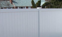 privacy fence longevity white vinyl
