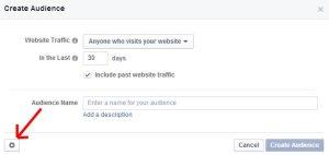 Custom Audience Facebook Retargeting