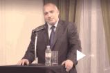 Бойко Борисов на среща с българската общност в Англия.