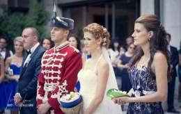 Веселинов защити войнската си чест, като бе с гвардейската униформа на сватбеното тържество с любимата си Констанция