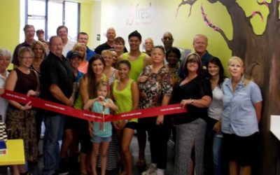 Ribbon Cutting for Fresh FroYo + Smoothie Bar