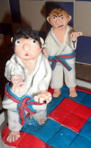 Christian taekwondo cake