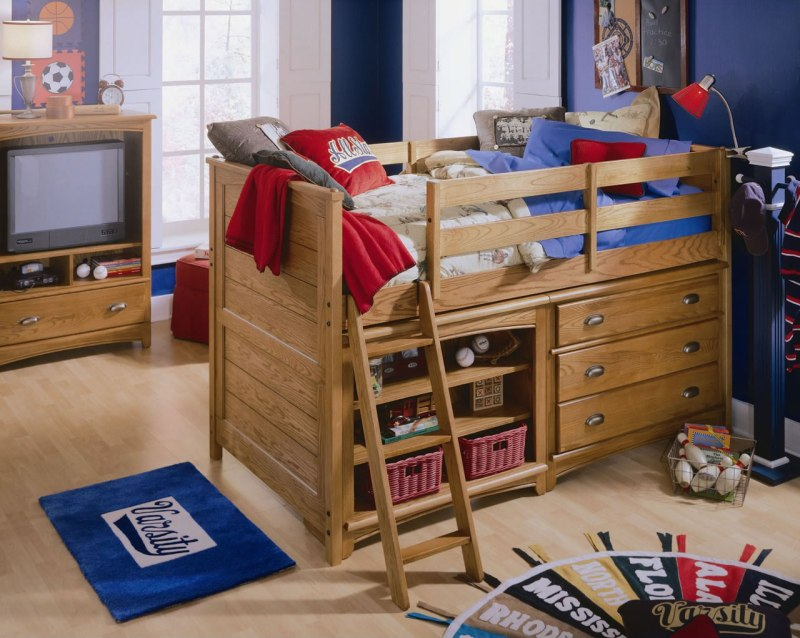 Large Of Low Loft Bed