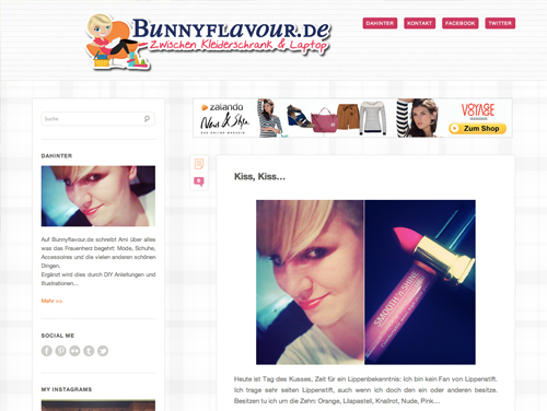 bunnnyflavourtheme Ein neues Theme fr Bunnyflavour