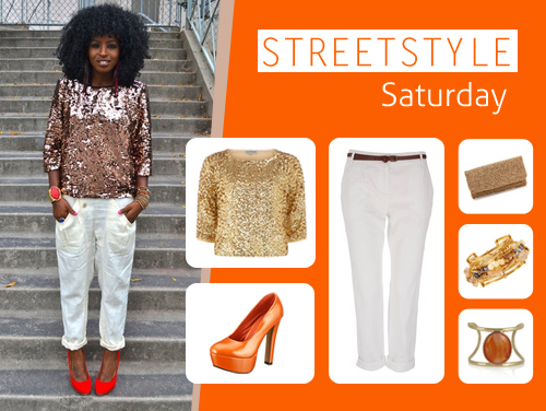 sss Street Style Saturday: Golden Girl