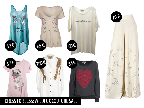 wildfoxsale Dress for less: Wildfox Couture SALE