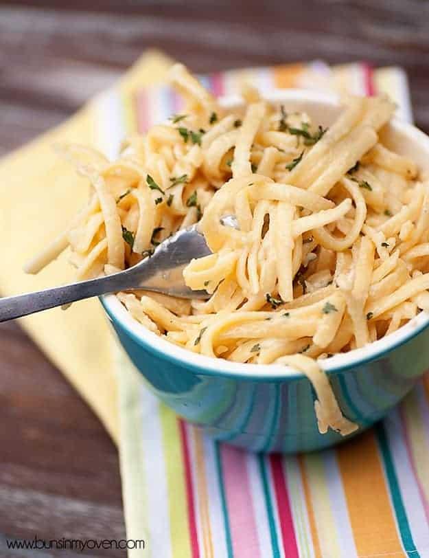 creamy garlic pasta recipe 1